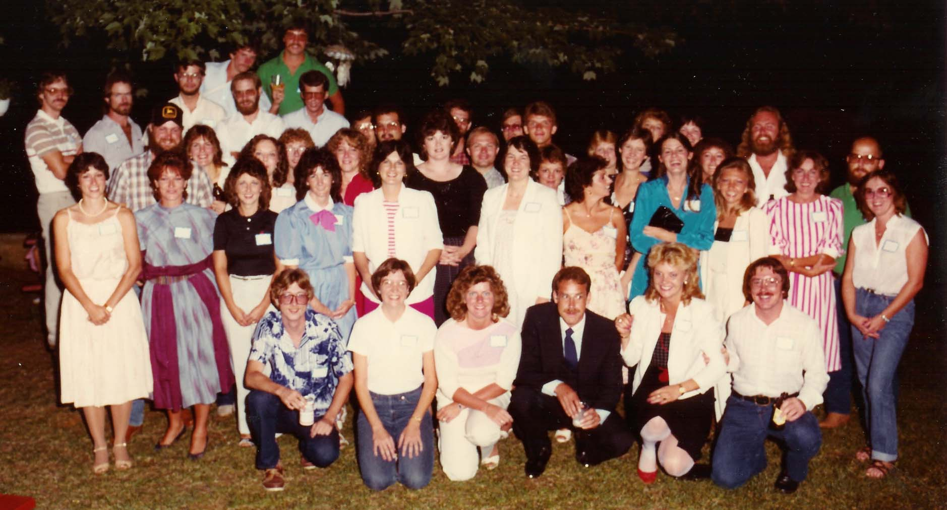 AHS Class of 73 in 1983 image